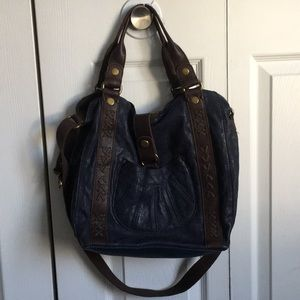 Lucky Brand Lamb Leather North South Tote